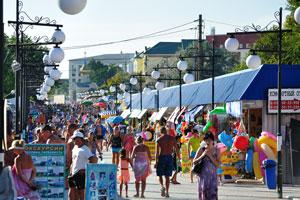 бульвар, Межводное, Крым