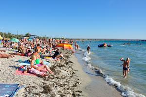 пляж Межводное