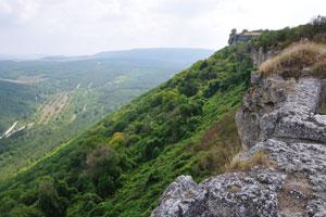 Средневековый город крепость чуфут