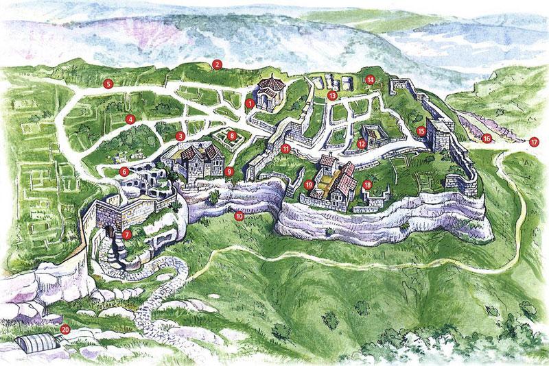 Средневековый город-крепость Чуфут-Кале